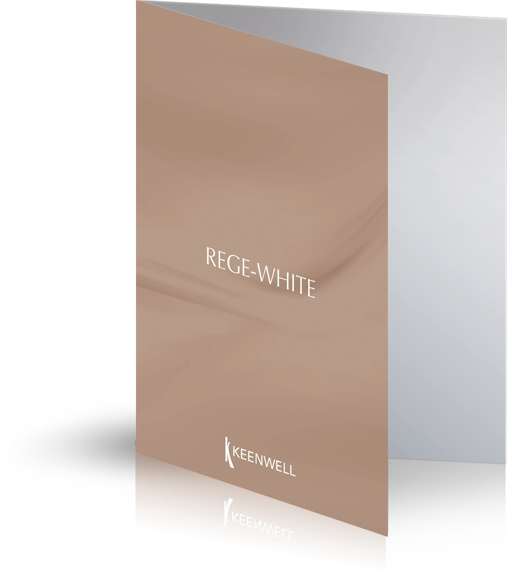 REGE WHITE - Catalogue