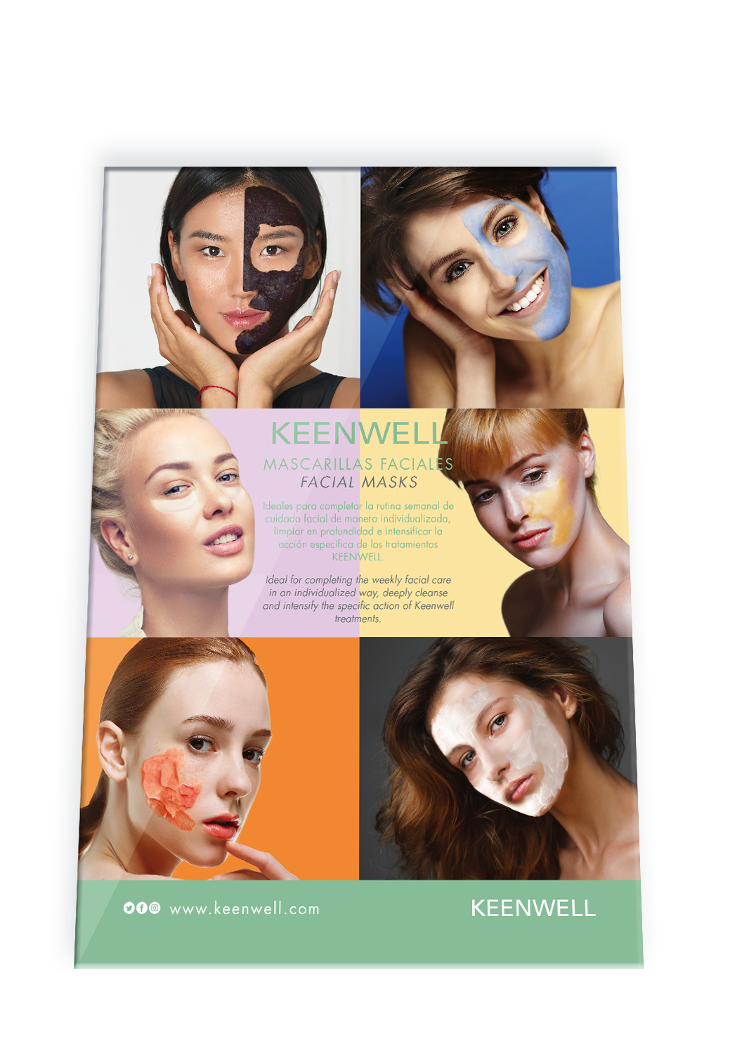FACIAL MASK - Stand Floor Display