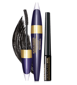DERMOLASH XXL + MASCARA BLACK QUEEN