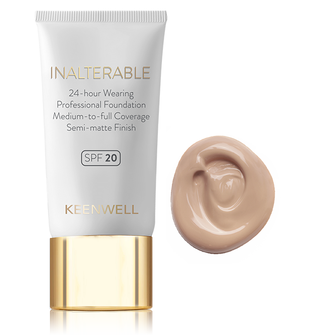 INALTERABLE - SPF 20 24-hour Wearing Professional Foundation  Medium-to-full Coverage - Semi-matte Finish