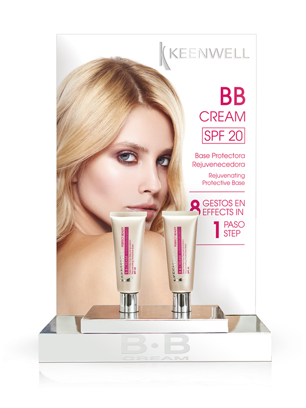 B•B CREAM DISPLAY 6 x COLOUR