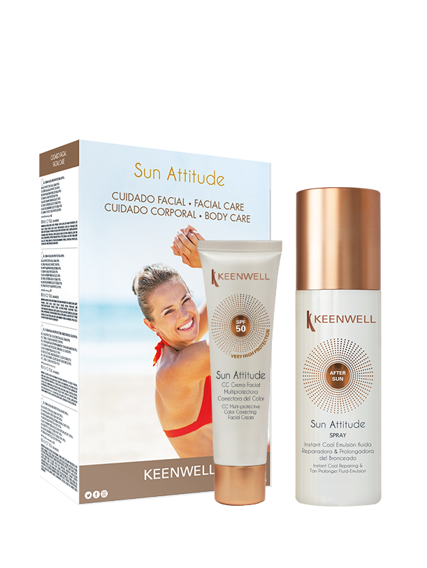 Facial CC Cream SPF 50 + Instant Cool Body After Sun