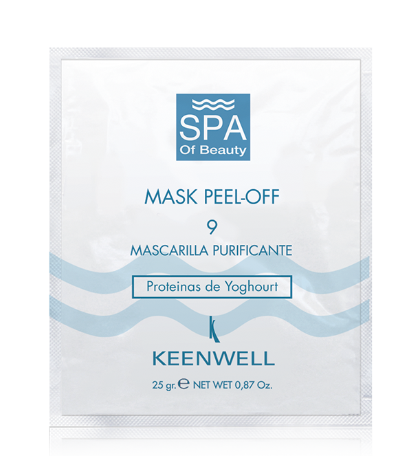 MASK PEEL-OFF-9 PURIFYING MASK WITH YOGHOURT PROTEINS