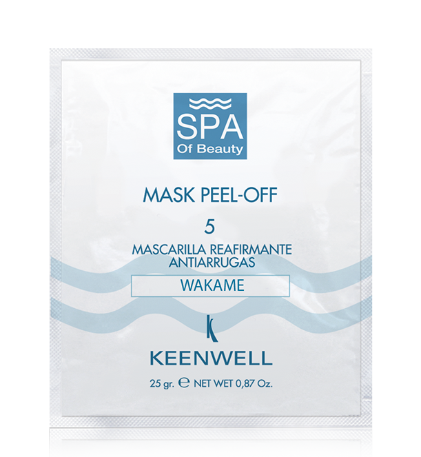 MASK PEEL -OFF -5- REAFFIRMING ANTI-WRINKLE MASK WAKAME  (UNDARIA PINNATIFIDA) EXTRACT
