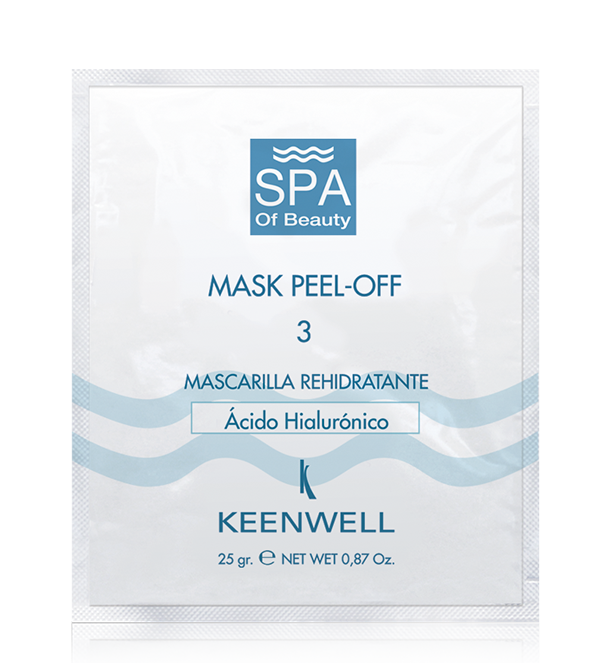 MASK PEEL-OFF -3- SUPER MOISTURIZING MASK HYALURONIC ACID
