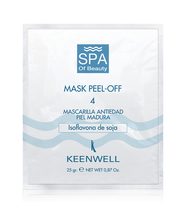 MASK PEEL OFF -4- ANTI-AGE MASK WITH SOY ISOFLAVONES