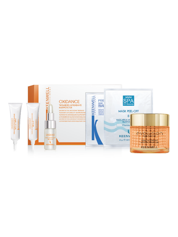Multiprotective antioxidant treatment kit - Evolution Sphere - Hydro-Antioxidant Multifuntional Care