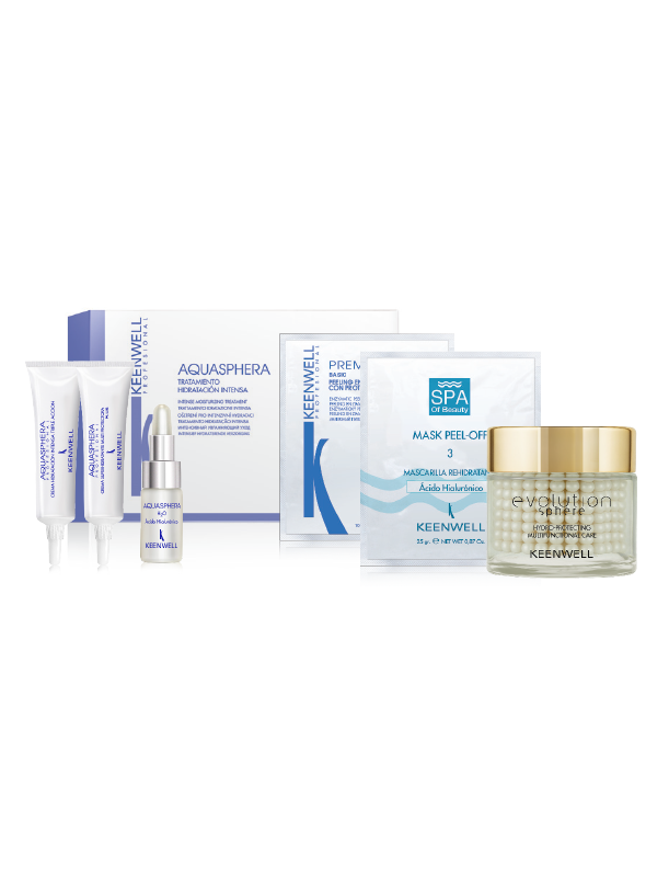KIT TREATMENT intense hydration Aquasphera - Evolution Sphere - Hydro-Protecting Multifuntional Care