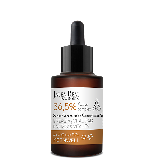 ENERGY AND VITALITY CONCENTRATED SERUM   36,5% Active Complex