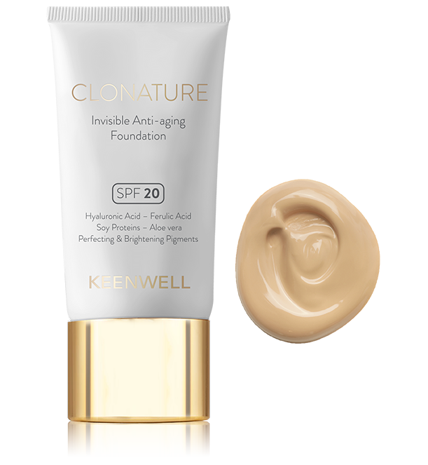 CLONATURE - SPF20 Invisible Anti-aging Foundation
